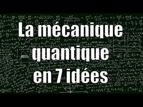 Quantum mechanics in 7 Ideas - unexpected sciences # 16