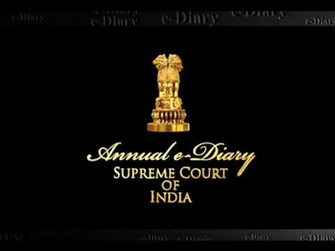e-Diary of the Supreme Court of India for the year 2016