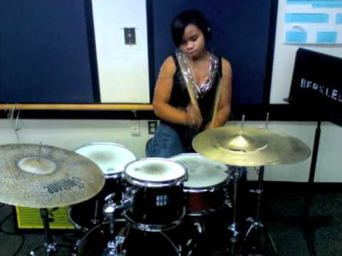 "Champagne Life- Ne-Yo (drum cover by Taylor ""@Pocket_Queen"" Gordon)"