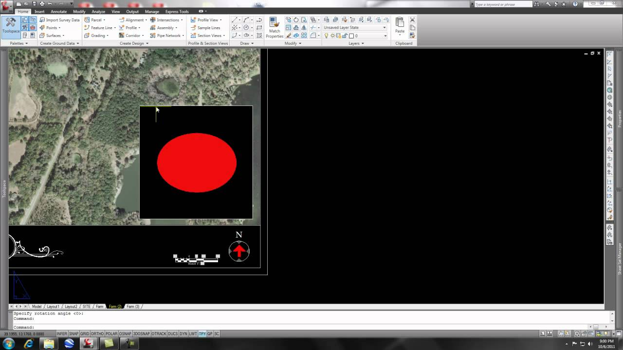 Image Transparency in AutoCAD C3D