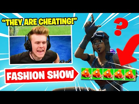 I STREAM SNIPED FASHION SHOWS with GRIEFING HACKERS...