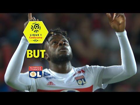 But Maxwel CORNET (82') / Dijon FCO - Olympique Lyonnais (2-5)  (DFCO-OL)/ 2017-18