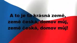 česk nrodn hymna   czech national anthem