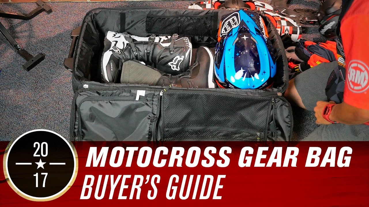 Best Motocross Gear Bags 2017