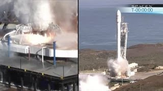 (T-20 Min To Webcast End) SpaceX Falcon 9 v1.1 Makes Its First Launch From Vandenberg, AFB