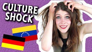 CULTURE SHOCK!   1 German vs.  3 Venezuelans