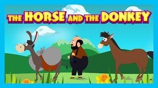 THE HORSE AND THE DONKEY - English Bedtime Story || Animated Storytelling - Kids Time