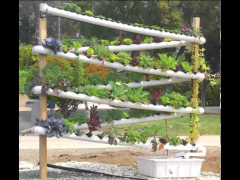 DIY Hydroponic Garden Tower - The ULTIMATE hydroponic system growing over 100 plants in 10 sq feet