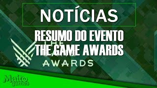 RESUMÃO DO THE GAME AWARDS 2018
