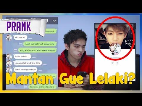MANTAN GUE TRANSGENDER? | TEXT PRANK MANTAN PAKE LIRIK LAGU GALAU