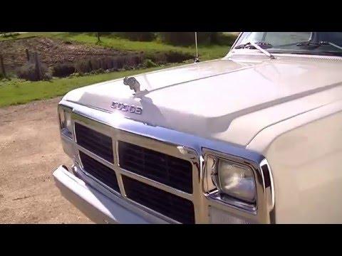 1983 Dodge Pick-up Truck W/slant 6 Just Restored Part 1