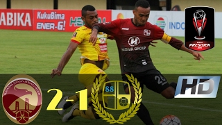 Sriwijaya FC vs Barito Putera 2-1 Piala Presiden All Goals & Highlights 13/02/2017 HD