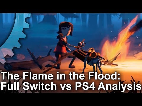 The Flame In The Flood: Nintendo Switch vs PS4 - Complete Analysis