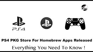 PS4 Jailbreak - PS4 PKG Store For Homebrew Apps Released - More Homebrew To Come!