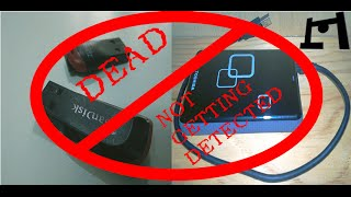 pen drive storage device not getting detected dead   easy fix in 3 minutes or so