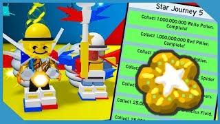 Abschluss der letzten Quest der Besitzer! Kostenloser Stern behandeln - Roblox Bee Swarm Simulator