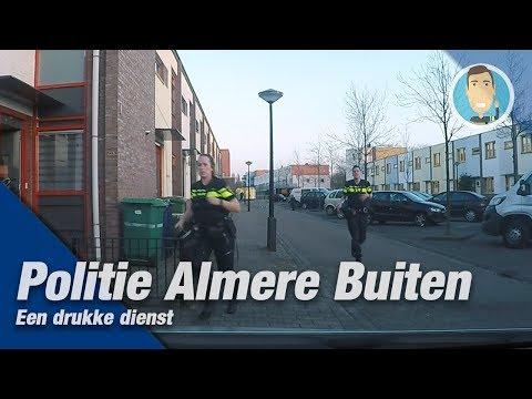 POLITIE Een middagdienst in Almere samen met Doenja.