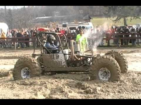 P~2 Mud Bogging in Belmont NY 10~23~10 Timed 4x4 Trucks