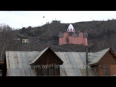 Sharika Mata Temple on the hill of Hari Parbat, Srinagar