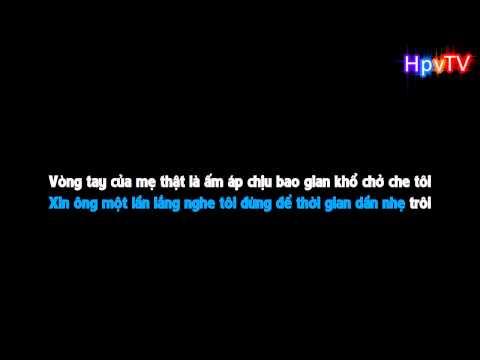 Karaoke HD Đứa Con Hư Xin Lỗi Mẹ   Spunty  Beat