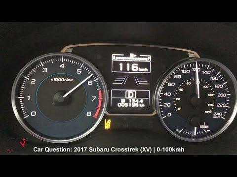 2017 Subaru Crosstrek (XV) | 0-60mph / 0-100kmh Acceleration Test! | Short Review part 2/3