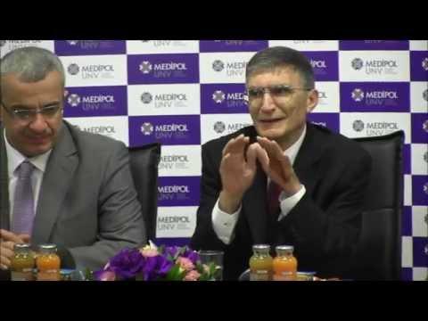 Nobel ödüllü Aziz Sancar Medipol'ü ziyaret etti