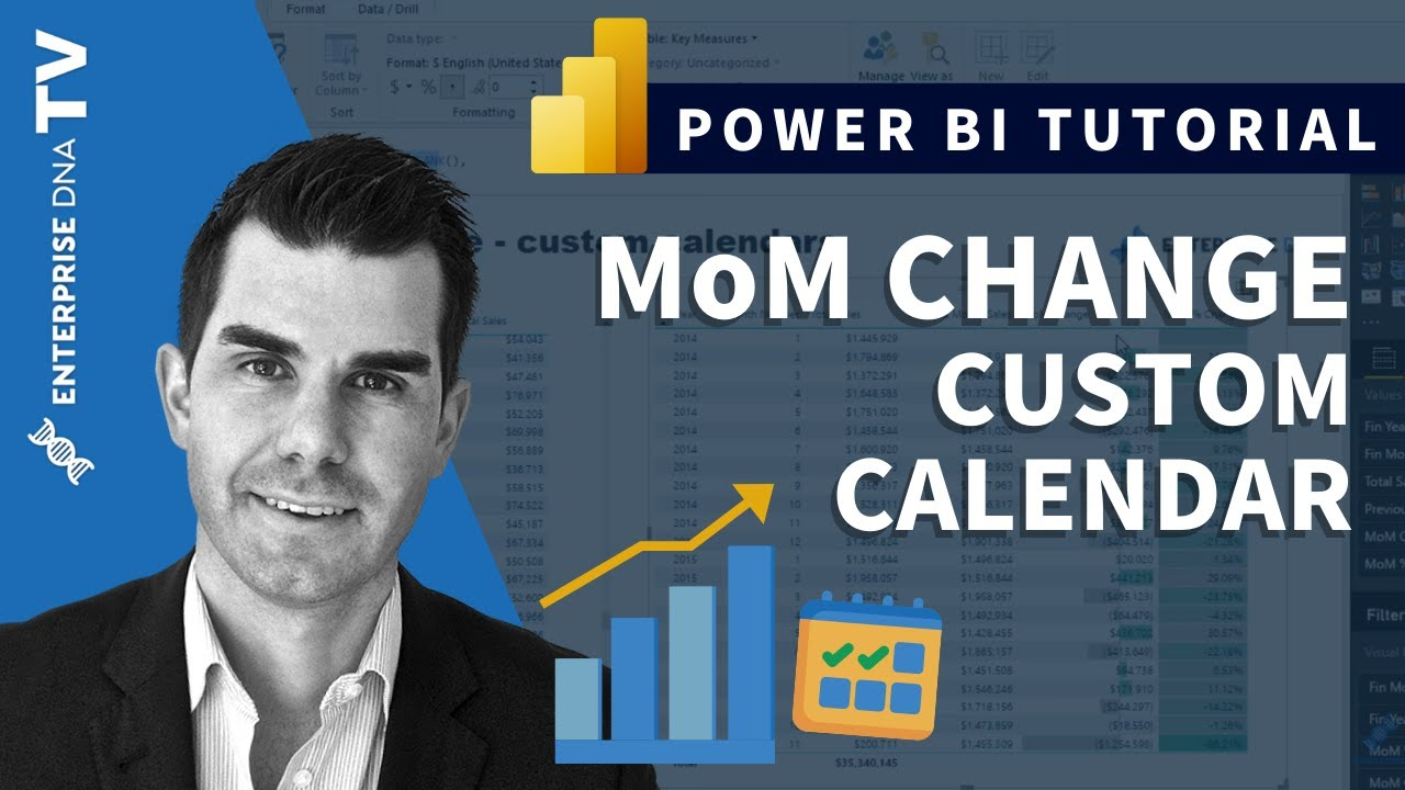 Calculating Month On Month Change - Custom (445) Calendars, Power BI & DAX