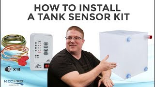 How to Install a Tank Sensor Kit