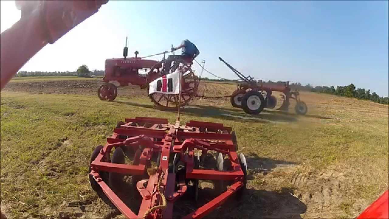 Farmall H On Steel Wheels Amish : Steel wheel farmall h with plow youtube