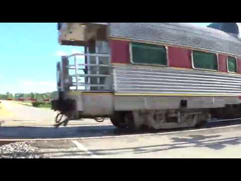 Thumbnail: On Time Amtrak #5 with Dome Car