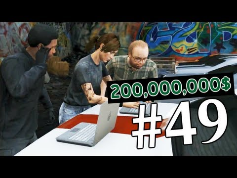 Grand Theft Auto V | Ep.49 | Огромный Куш на 200,000,000$