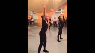 Фрагмент урока хореографии 3