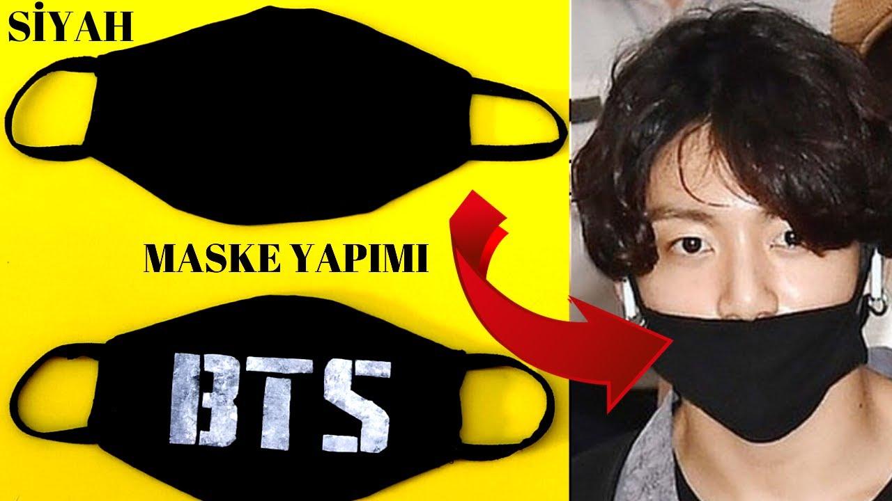 MASKE YAPIMI DIY KPOP MASK [OPEN SUB ] ağız maskesi yapımı