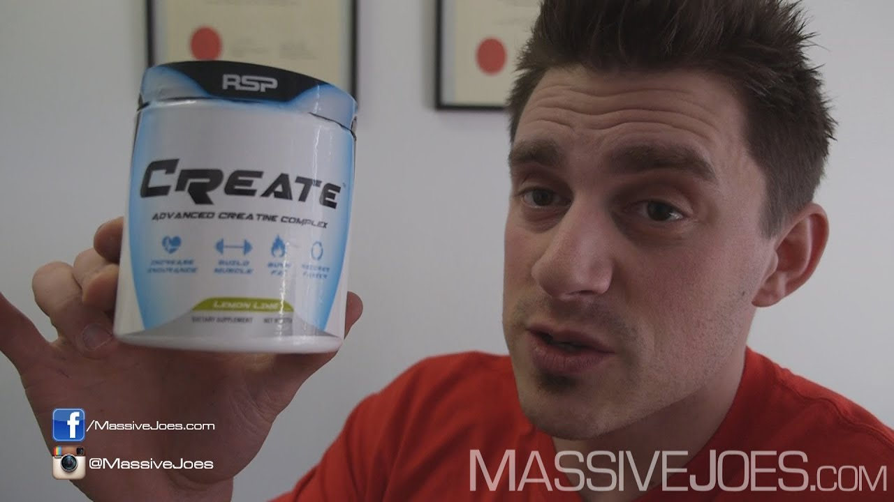 Rsp Create Blended Creatine Supplement Review Massivejoescom Raw Monohydrate 500 Gram Video Blend Atp