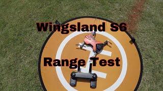 Wingsland S6 Range Test: Video #3