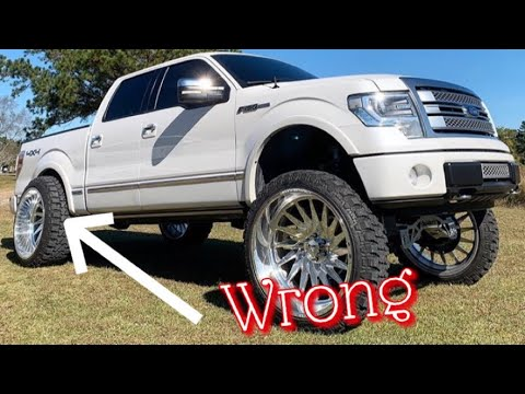 How To Fix Carolina Squatted Truck Youtube