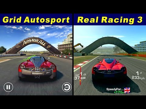Grid Autosport Android Vs Real Racing 3 @ Mount Panorama