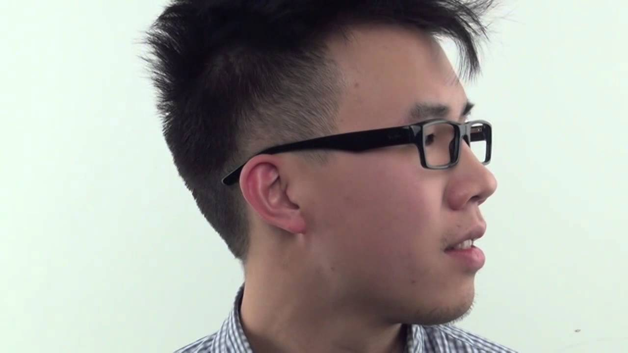 f016bd403ff Ray-Ban RX5213 2000 B Eyeglasses - VisionDirect Reviews - YouTube