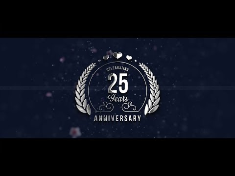 25th Wedding Anniversary Invite Video