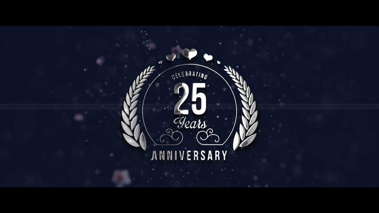 25th Wedding Anniversary Invite Video