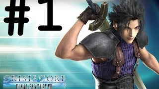 Longplay: Crisis Core Final Fantasy VII Part 1 (PPSSPP Max Settings)