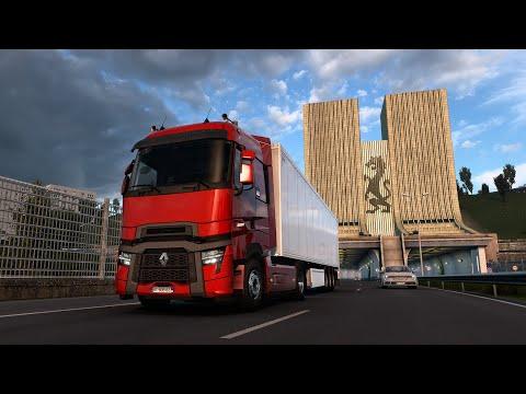New Renault Trucks T U0026 T High: Evolution | ETS2 1.40