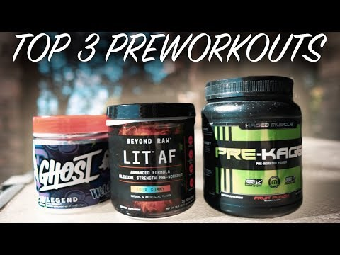 THE BEST PRE WORKOUTSFor Men and WomenPre Workout Supplement 2020