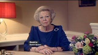 Die Rede der niederländischen Königin