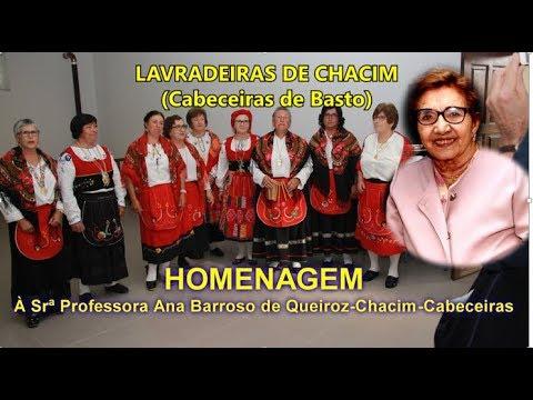 681 LAVRADEIRAS DE CHACIM HOMENAGEM À Srª PROFESSORA ANINHAS 4K-Cabeceiras/Coletânea A Teixeira