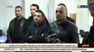 اطلاق إسم المجاهد الراحل بن سليمان مقدم على المبنى الجديد لقناة ـ النهار TV ـ