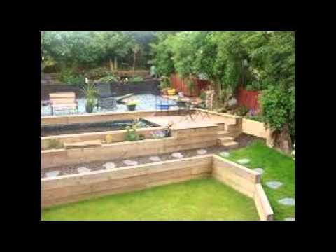 garden sleeper ideas - Garden Design Using Sleepers