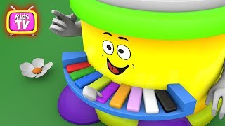 Animation for kids - Learn colors with ice cream and toys - cartoons for children