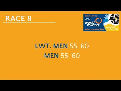 2019 World Rowing Indoor Champs. Masters 2000m Races: - LM55, LM60 And  M55, M60