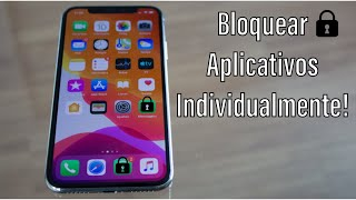 Como Bloquear Apps Individualmente Com Senha! - iPhone 4/5/6/7/8/X/XS screenshot 4